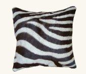 Zebra Cushion, 45 x 45 cm