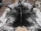 Nguni Cowhide, black and white