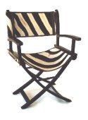 Directors Chair, Zebra